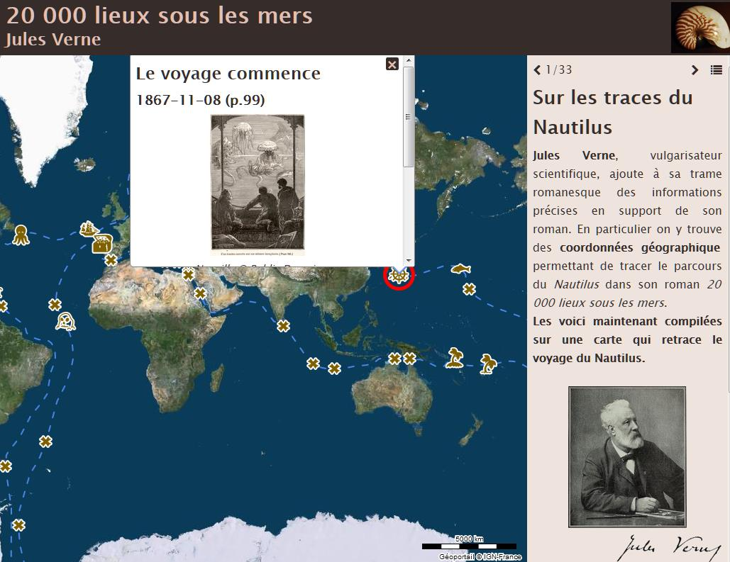 Image d'exemple des cartes narratives